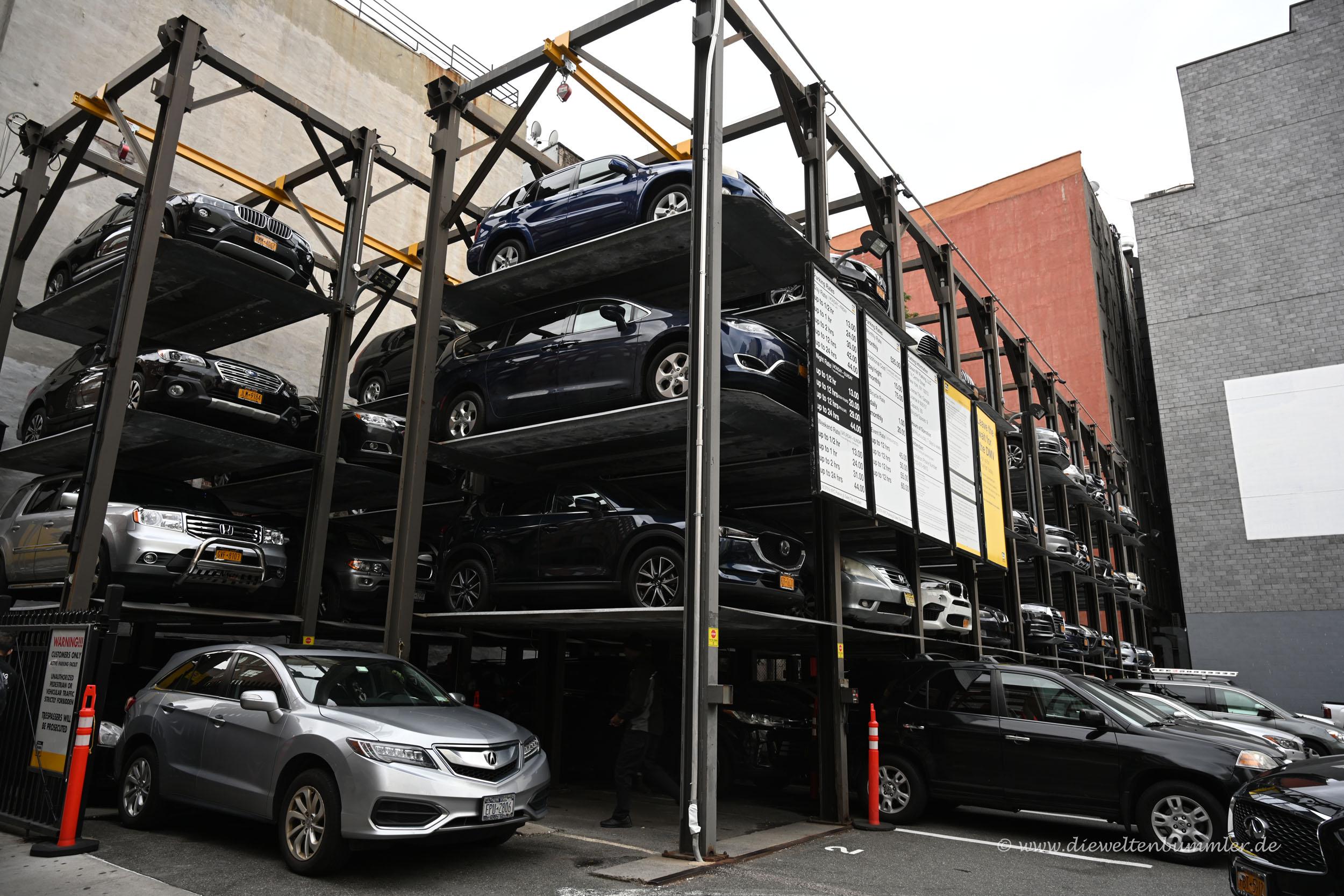 Parkhaus in Manhattan