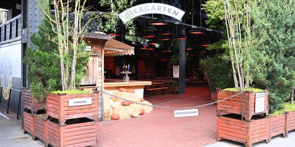 Deutscher Biergarten in New York