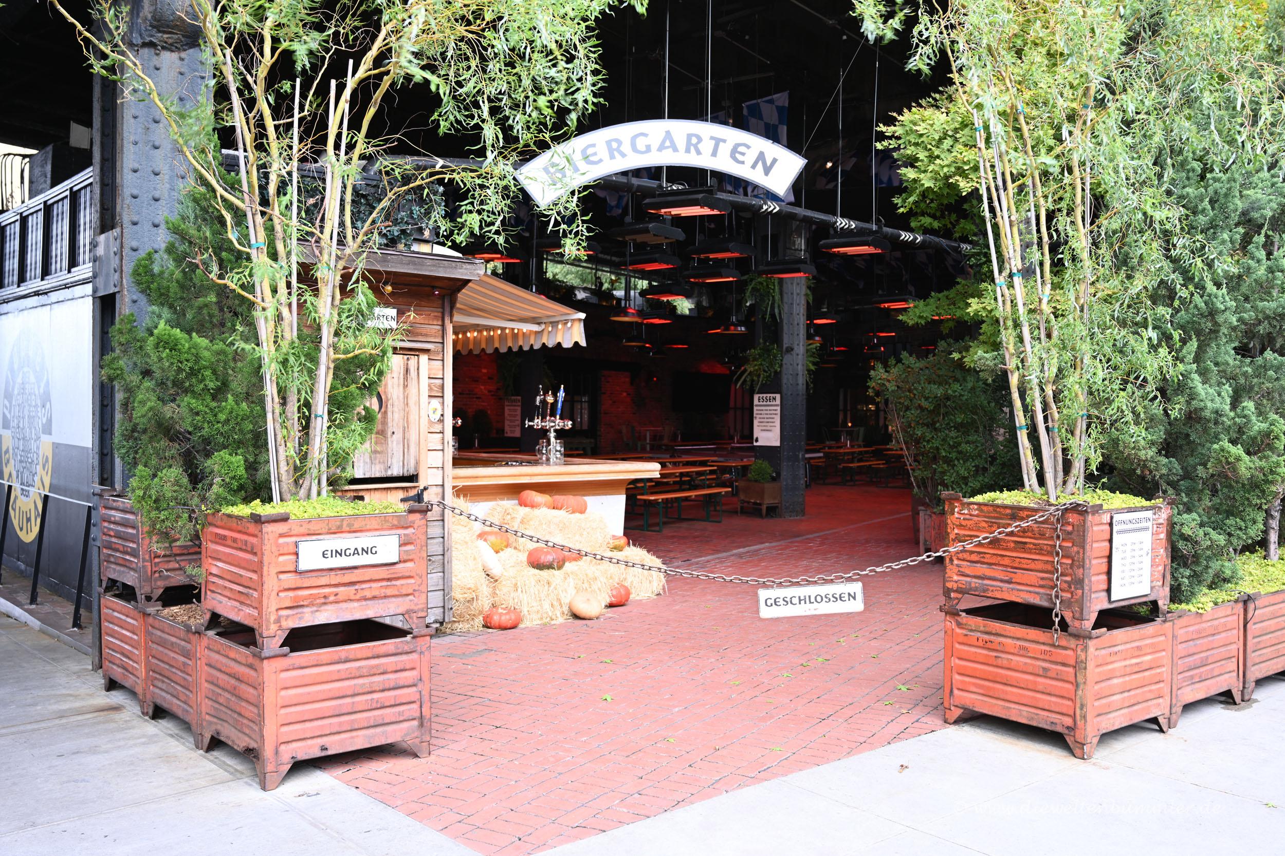 Deutscher Biergarten in New York