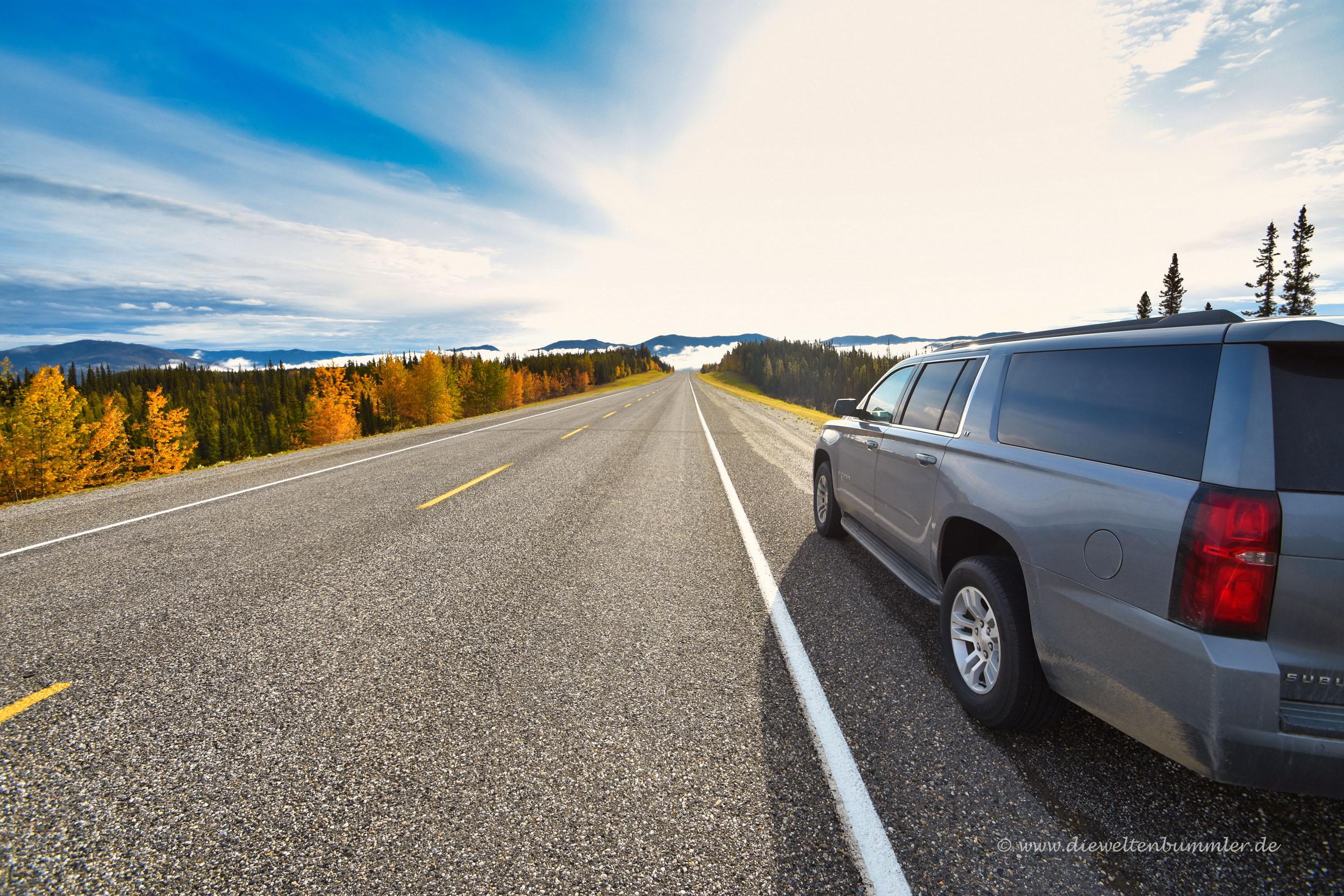 Tolle Reise auf dem Alaska Highway