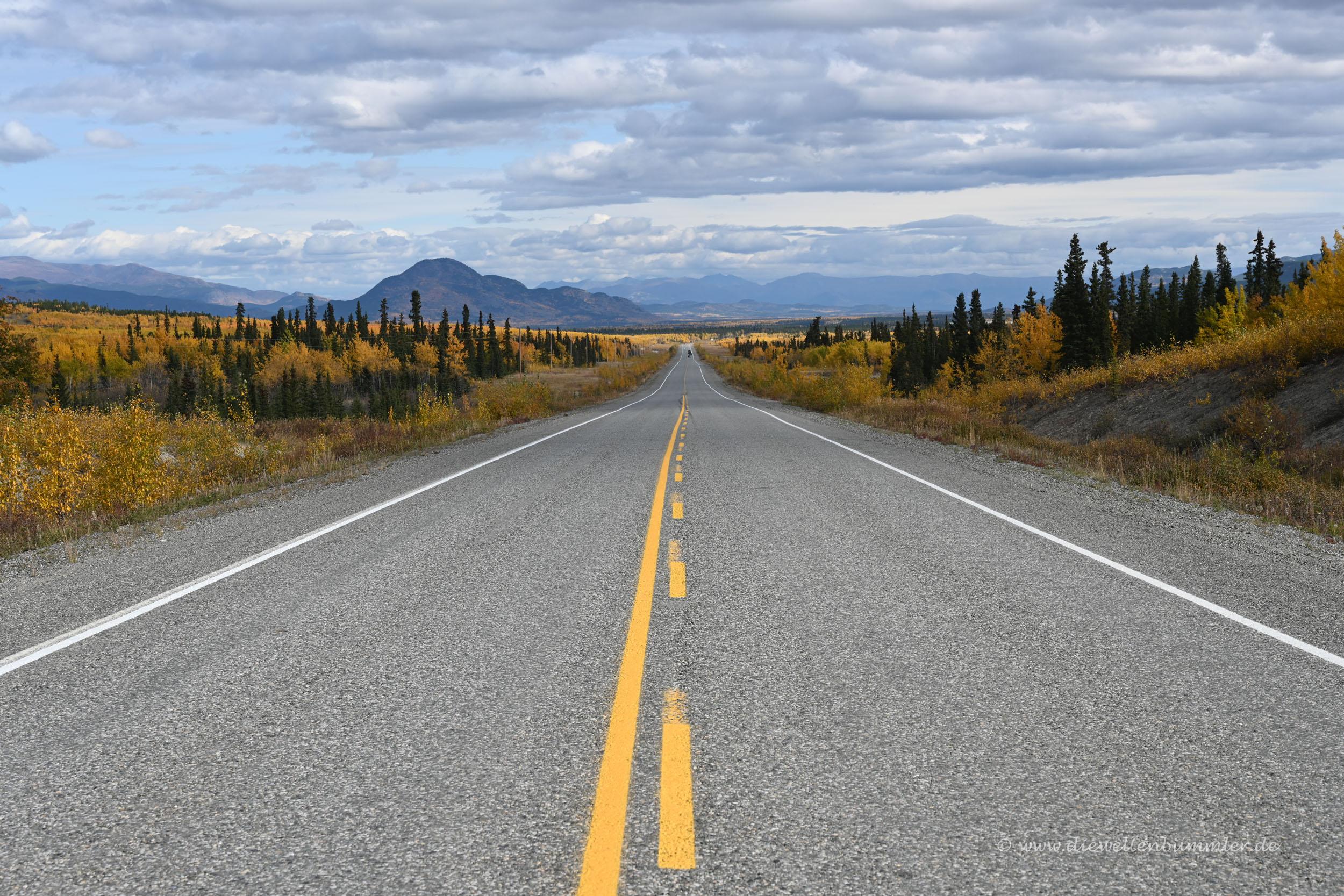Alaska Highway in Kanada