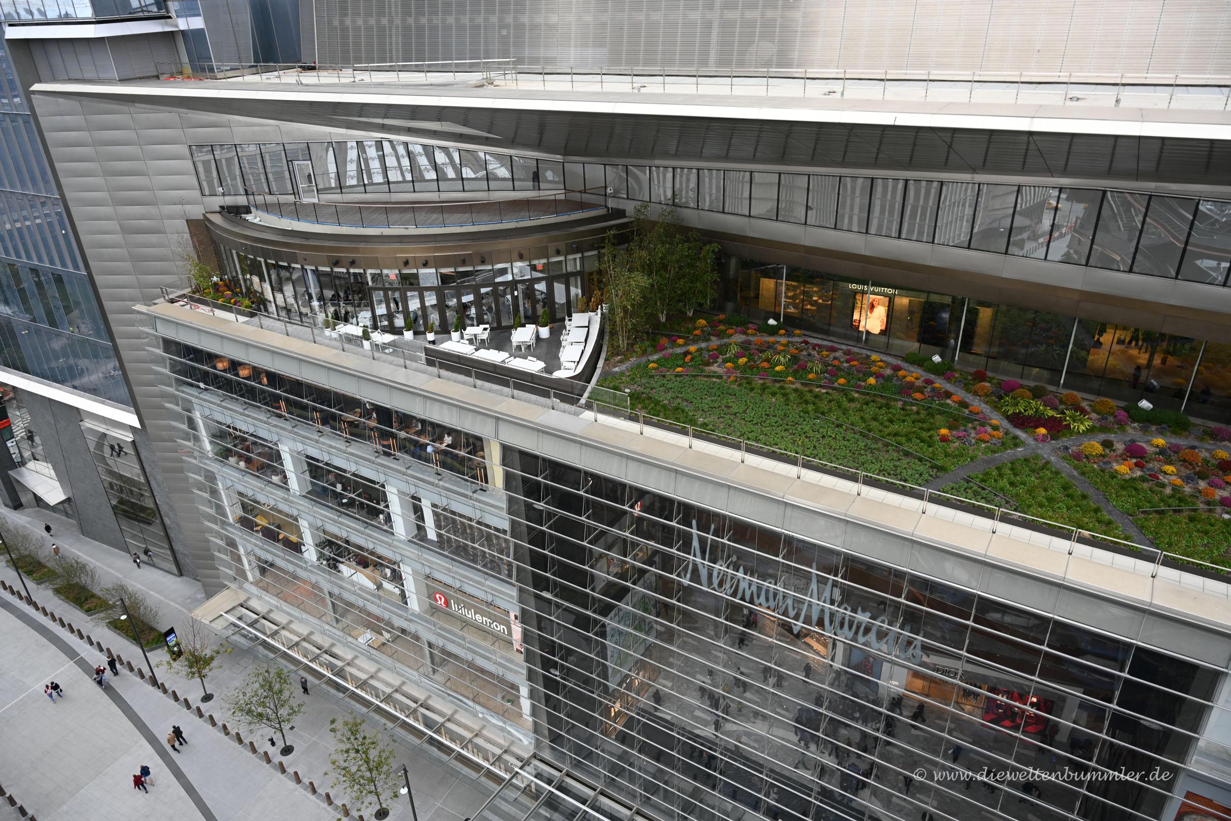 Hudson Yard von oben