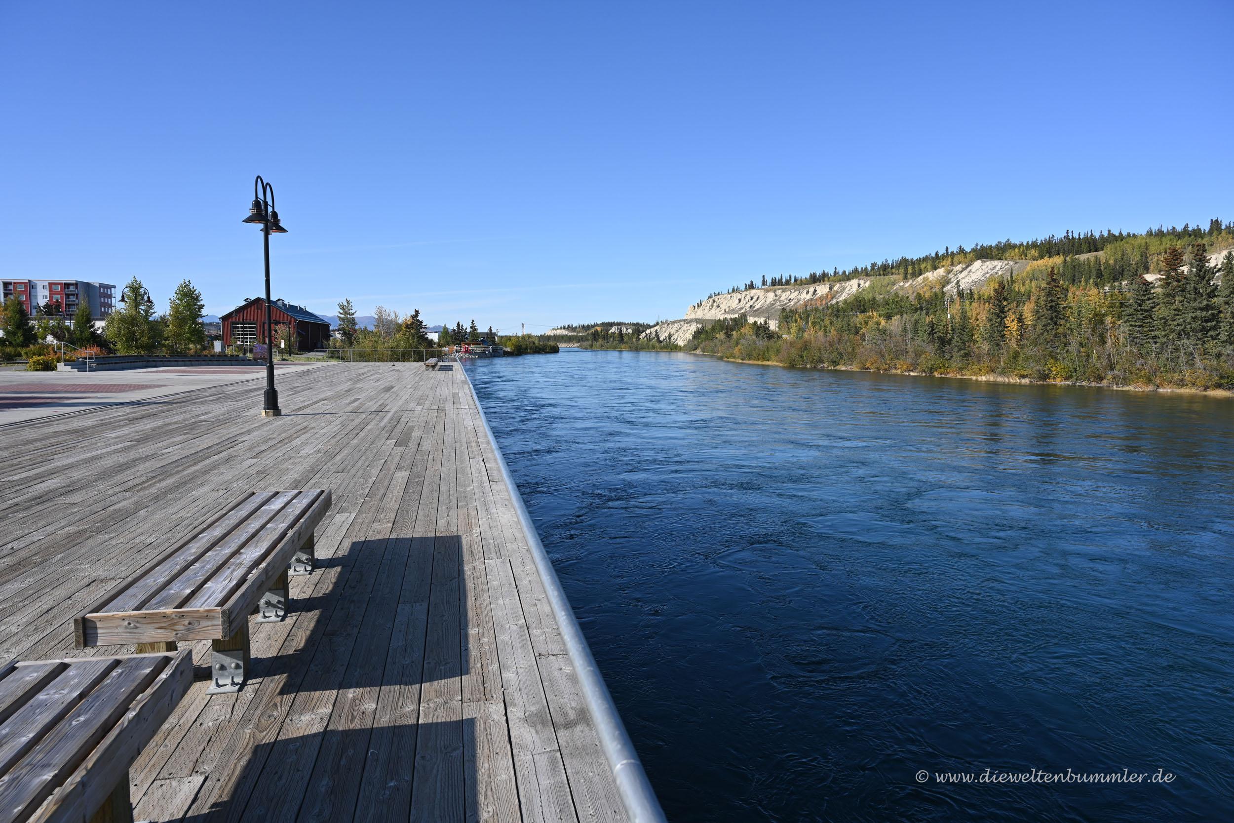 Yukon-Ufer in Whitehorse