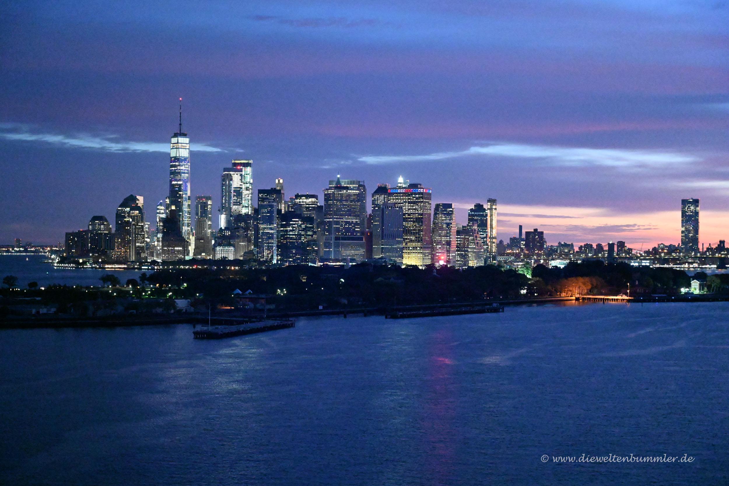 Manhattan im Sonnenaufgang