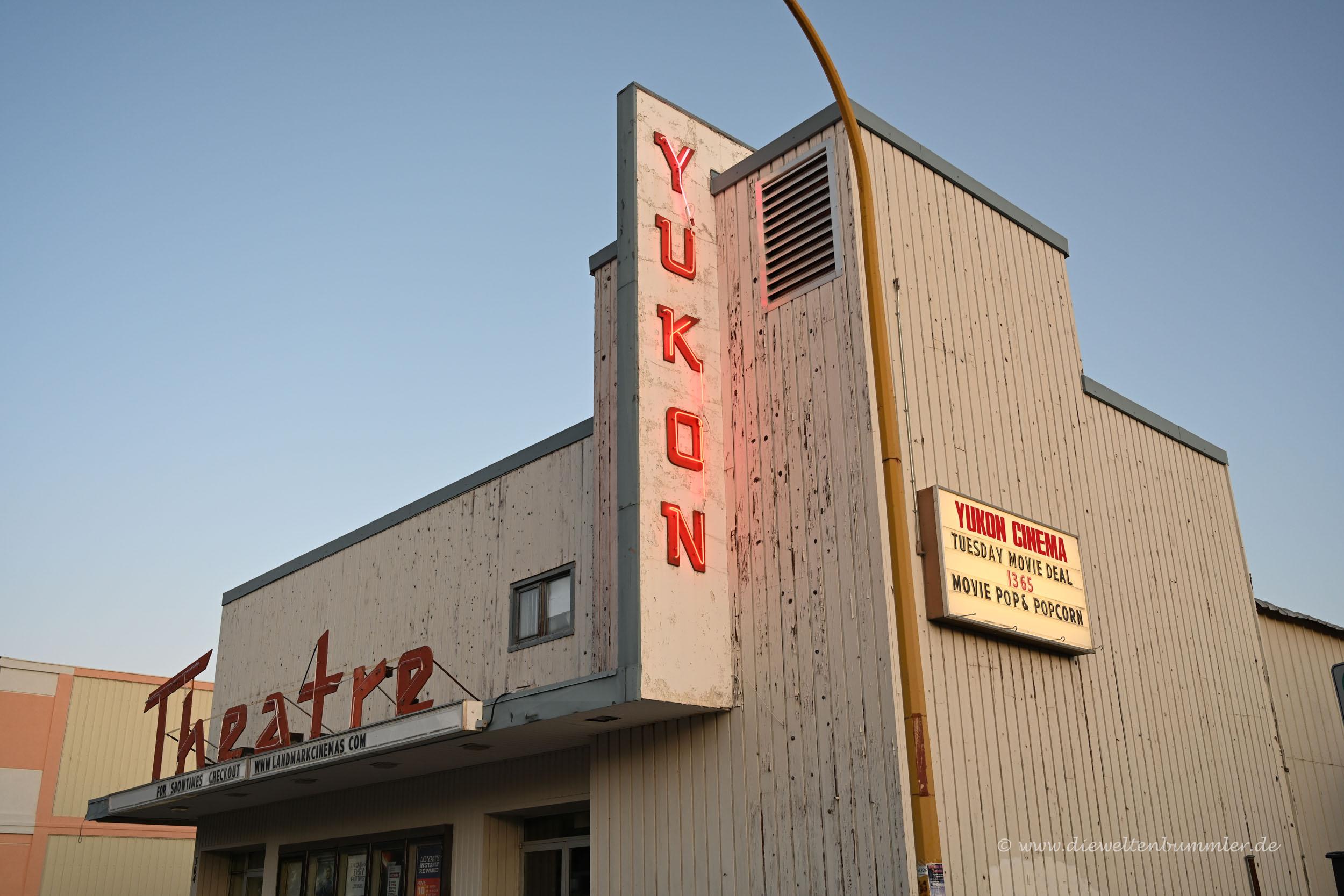 Yukon Theater in Whitehorse