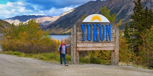 Schild zum Yukon