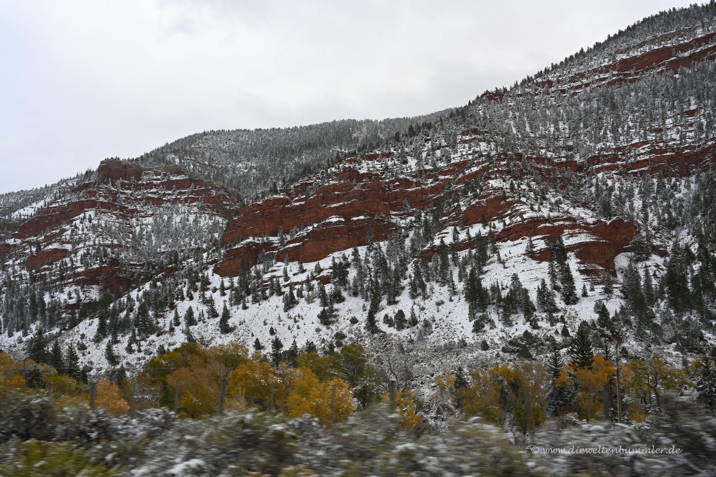 Auf dem Weg in die Rocky Mountains