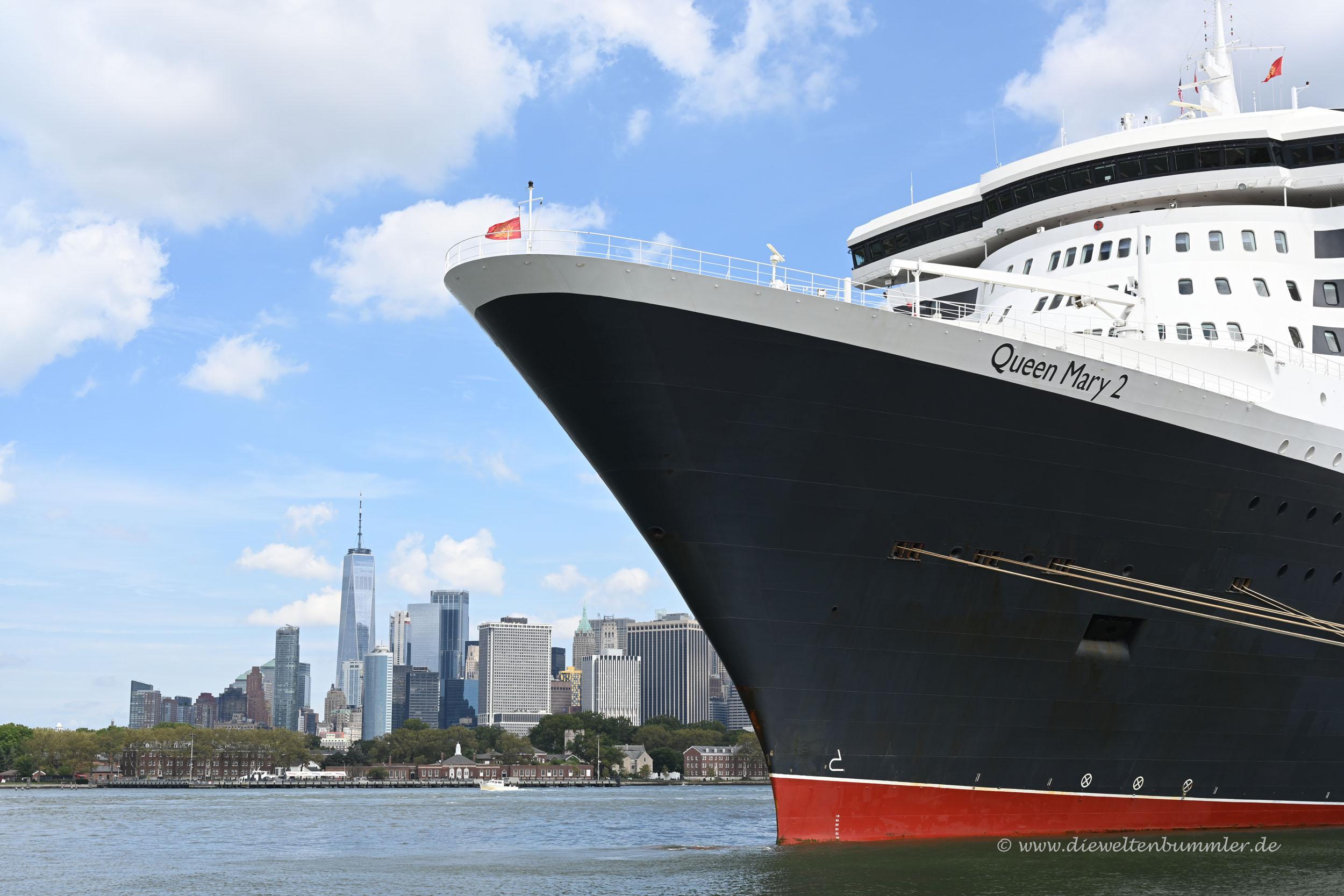 Queen Mary 2 und Manhattan