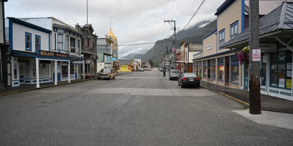 Hauptstraße in Skagway