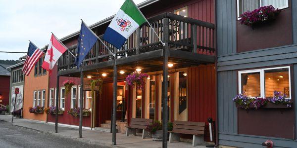 Unser Hotel in Alaska