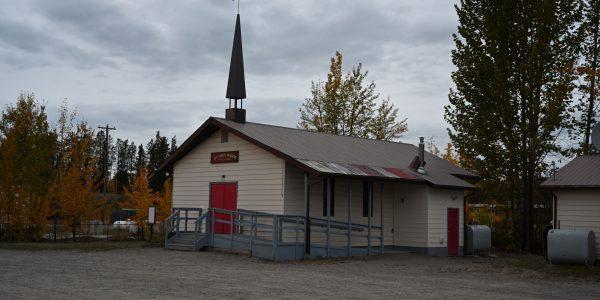 Kleine Kirche in Watson Lake