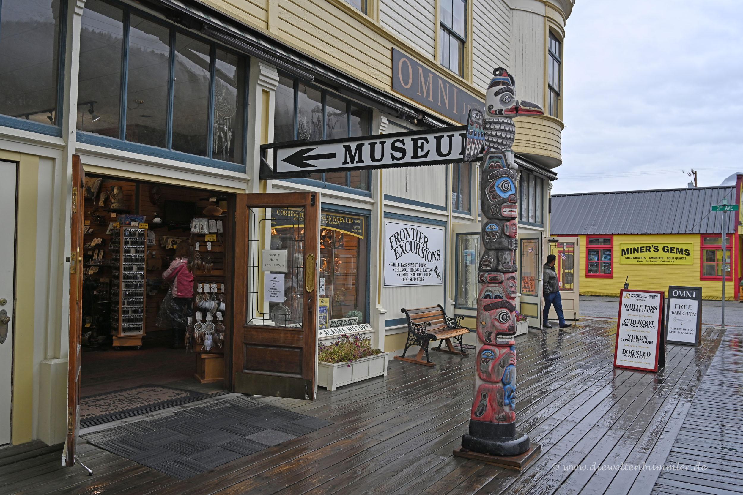 Museum und Souvenirladen