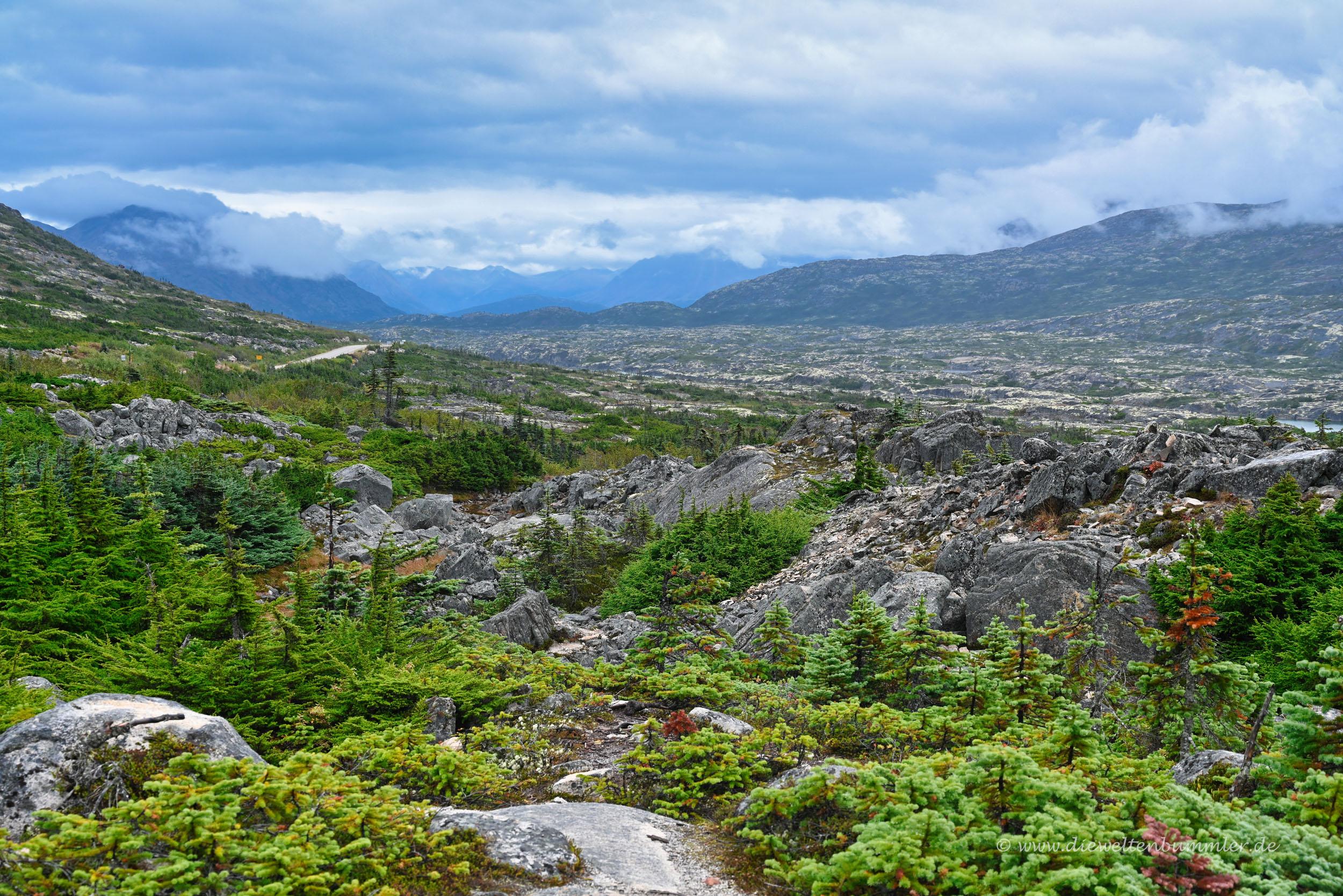Landschaft bei Alaska