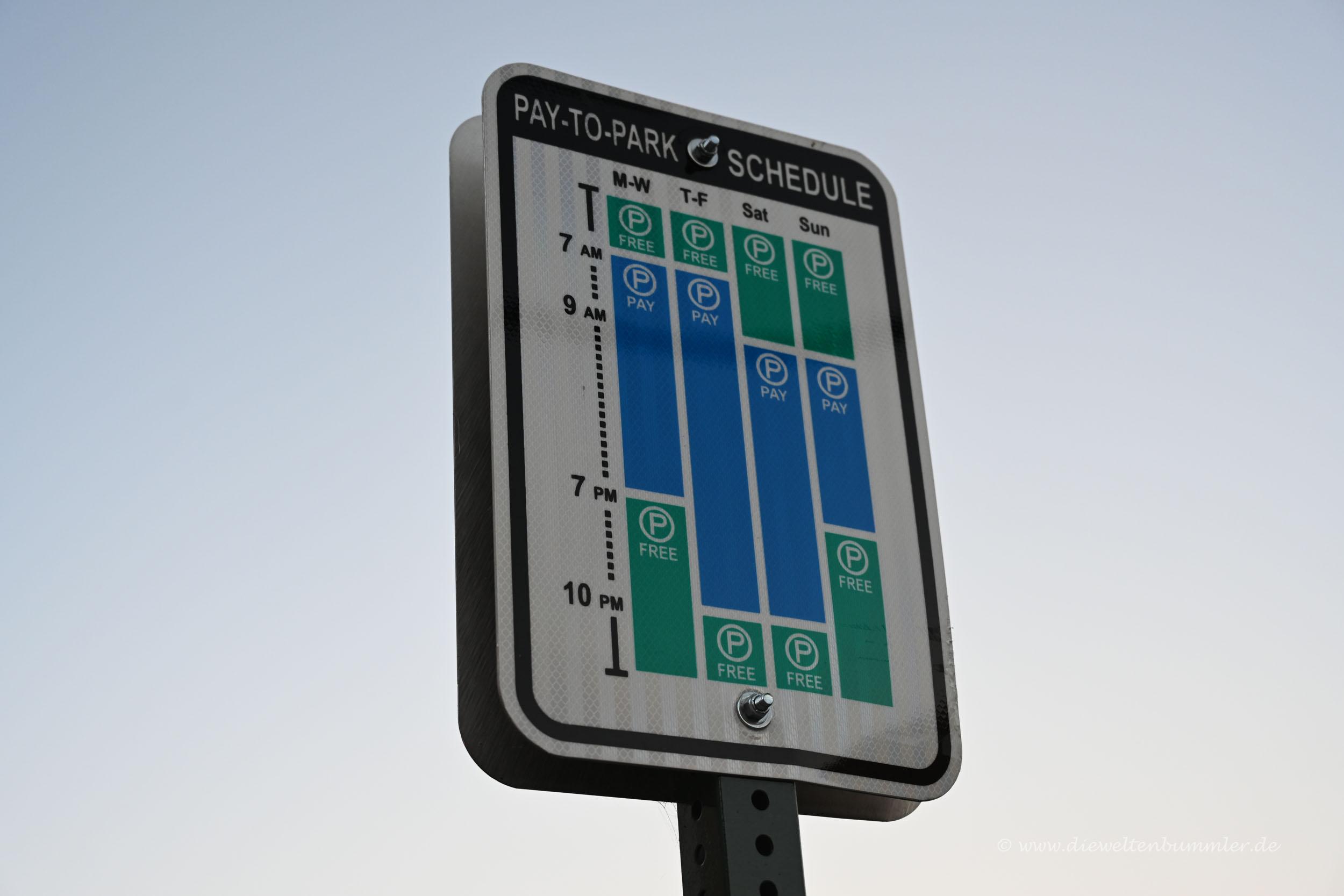 Parkhinweise