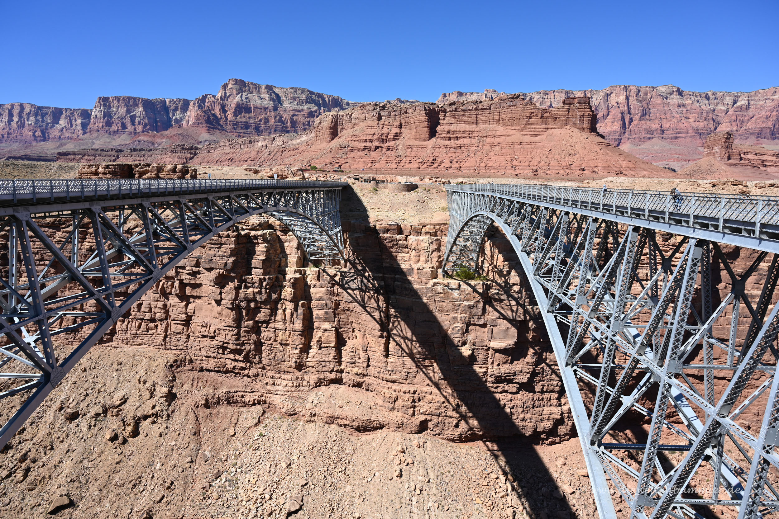 Brücken am Canyon