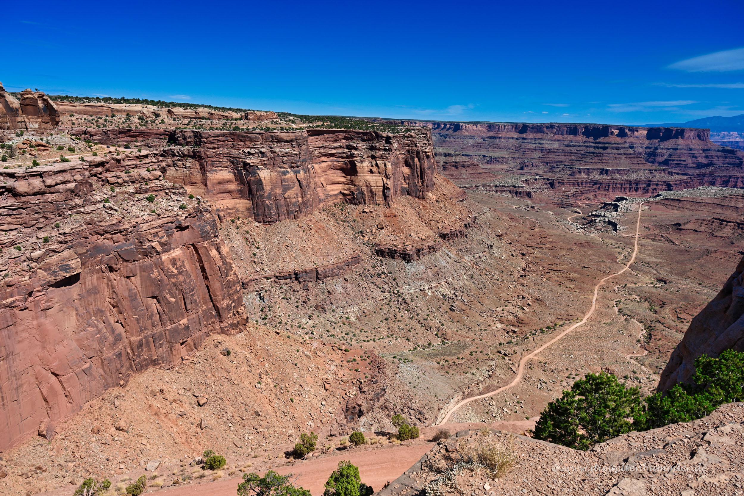 Shafer Trail im Canyonlands Nationalpark