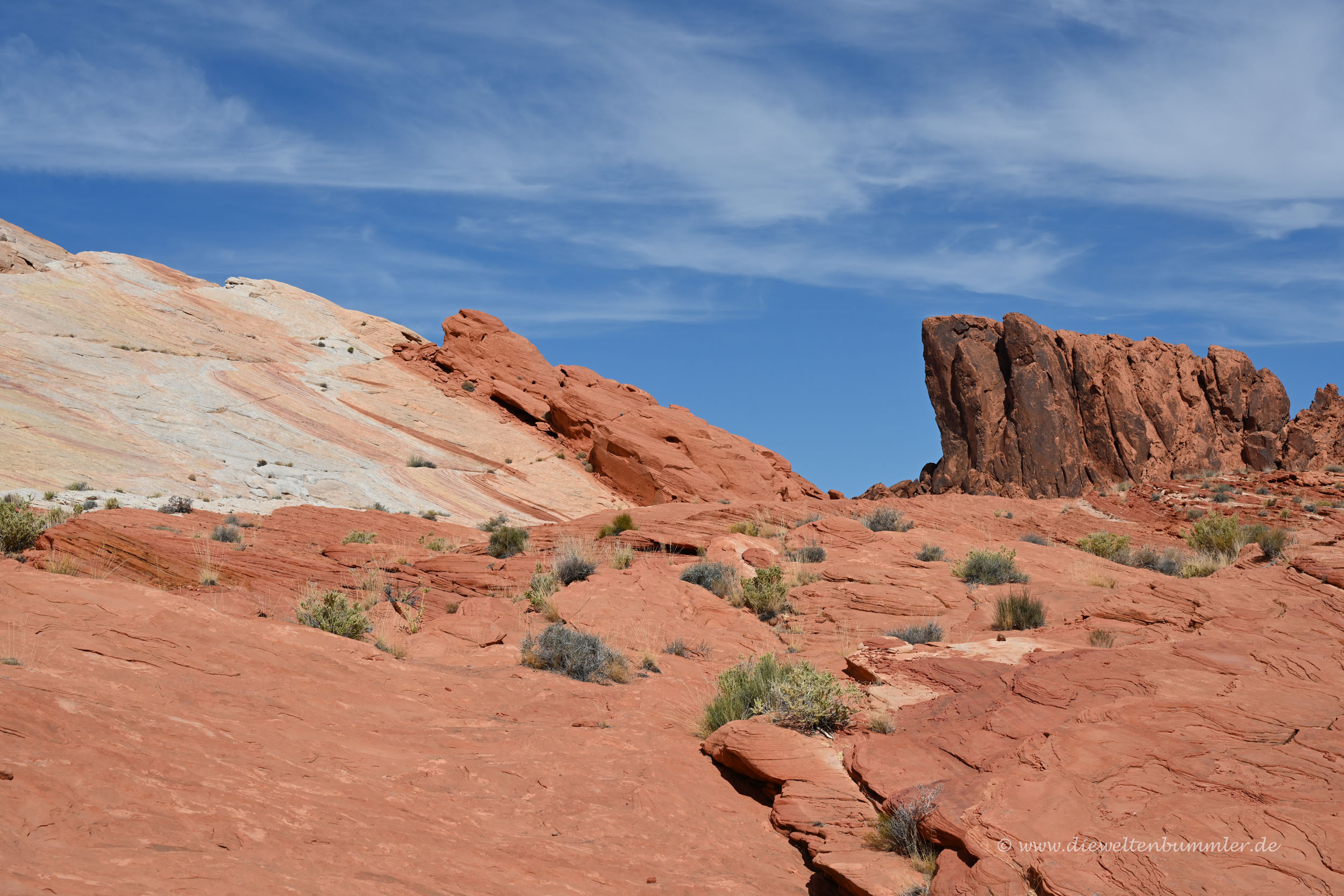 Wanderweg durch das Valley of Fire