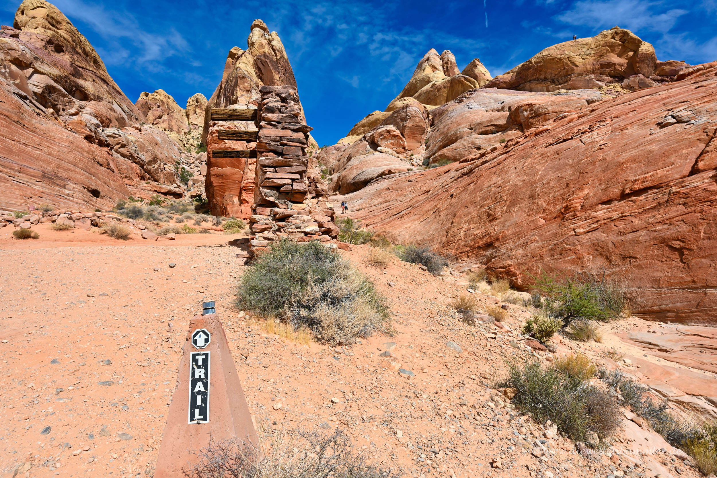 Trail im Valley of Fire