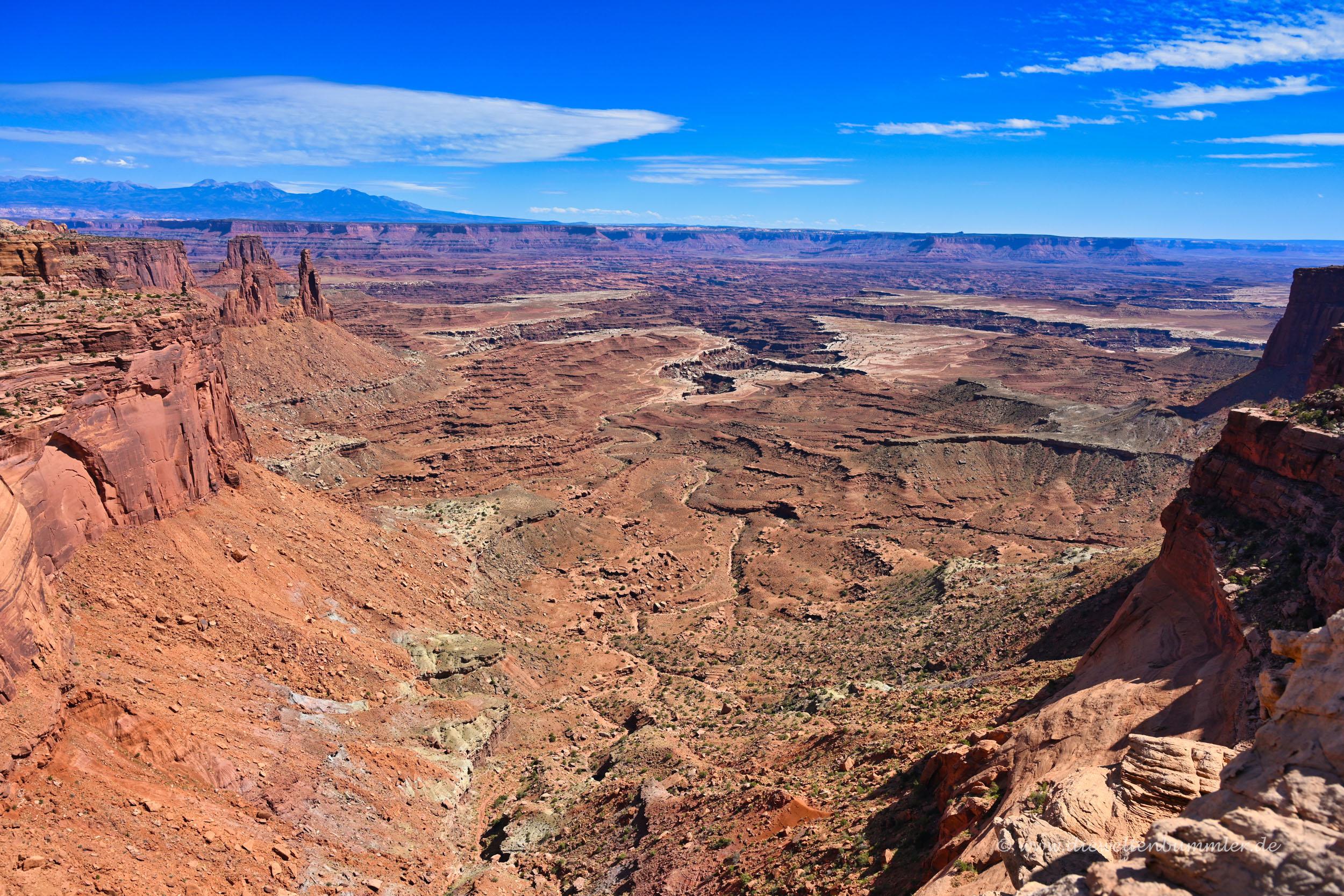 Ausblick in Utah