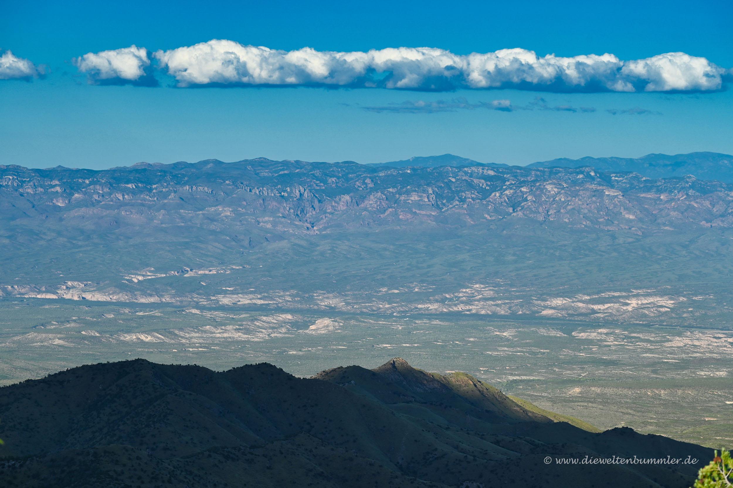 Rund um Tucson in Arizona