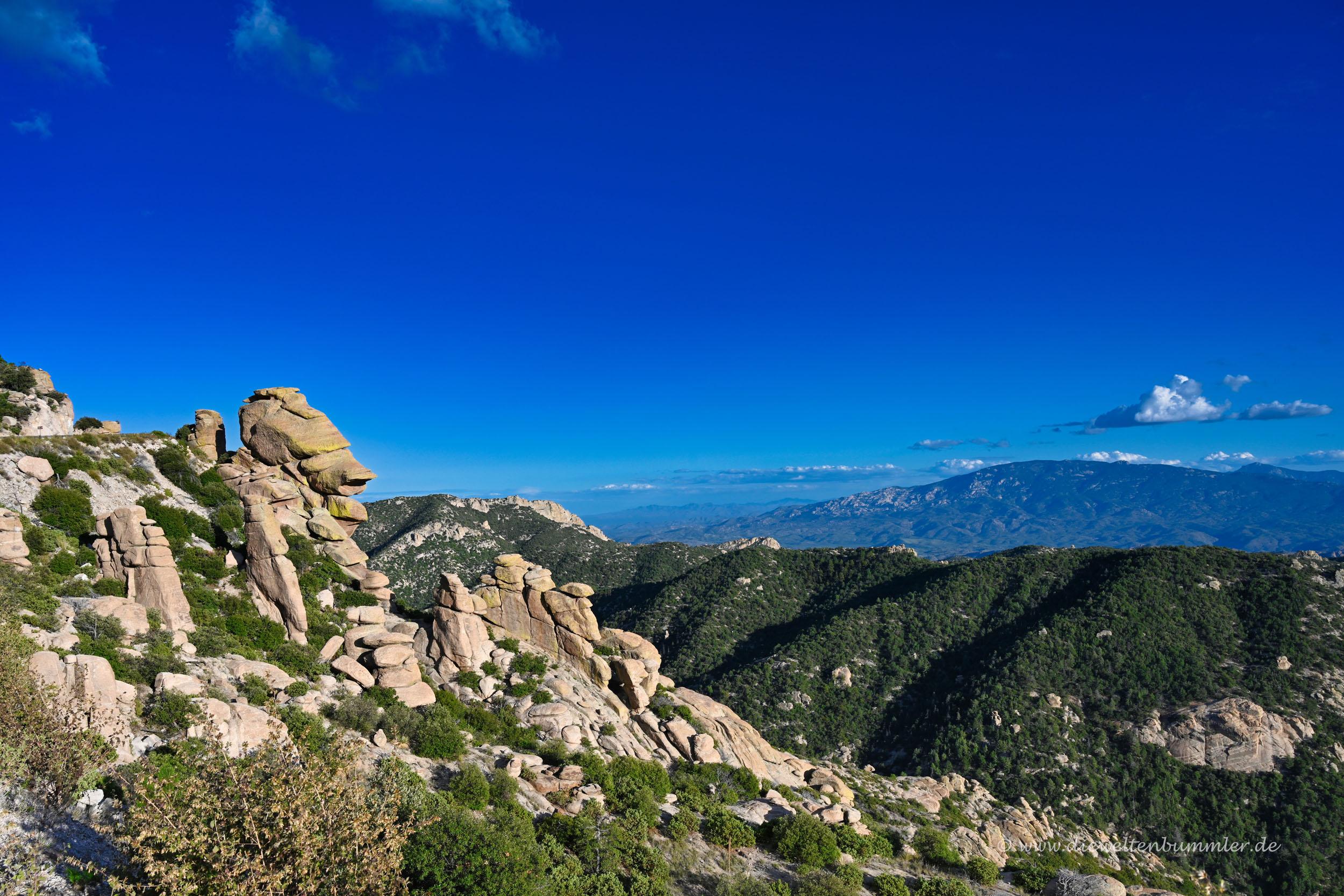 Felsen am Mount Lemmon