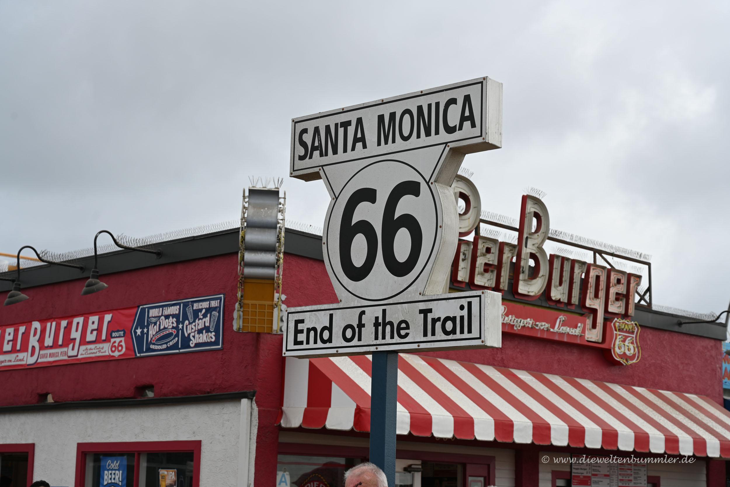 Ende der Route 66