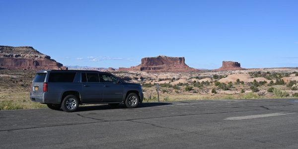 Mit dem Mietwagen auf dem Roadtrip