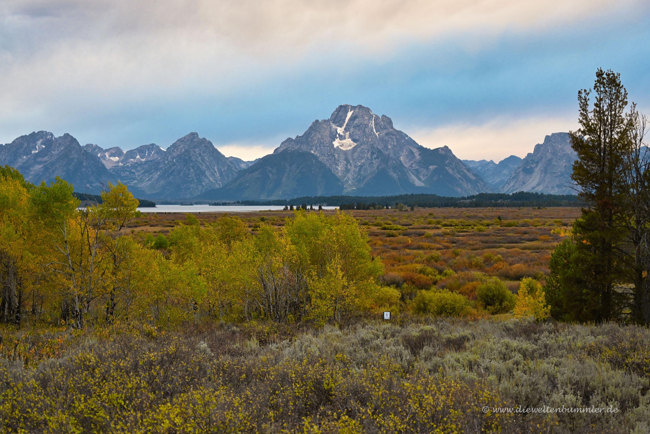 Rocky Mountains im Grand Teton Nationalpark
