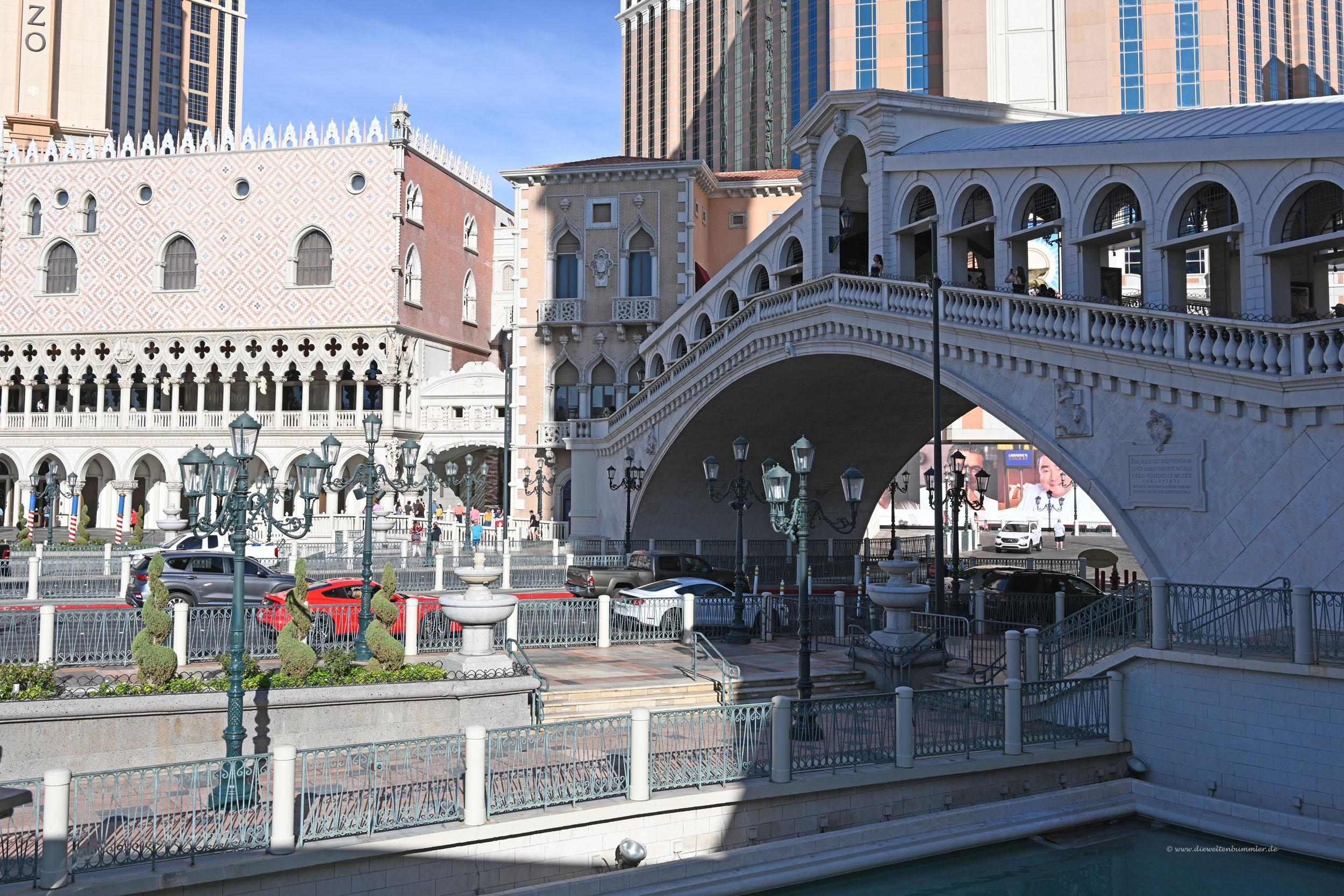 Das Hotel Venetian