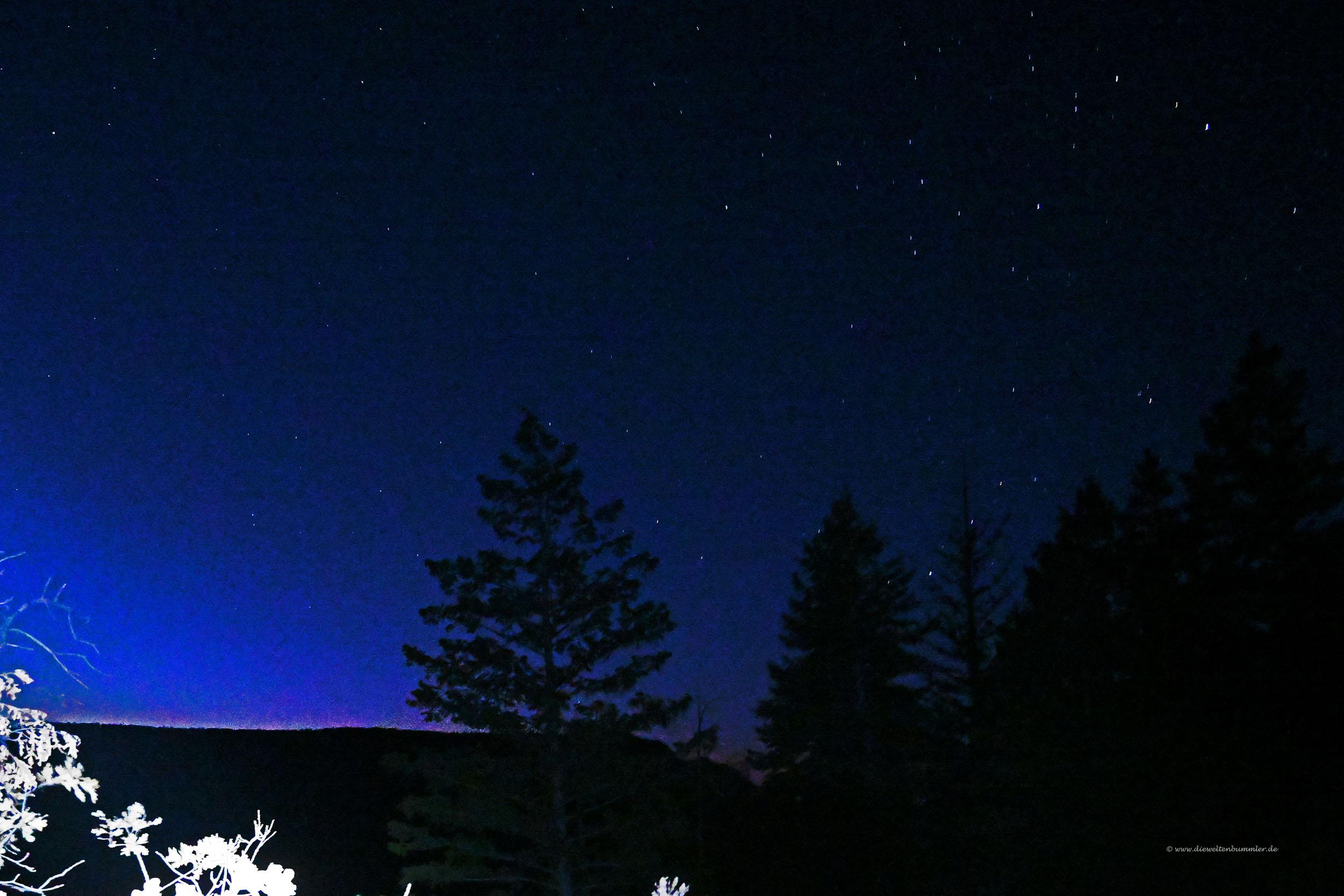 Sternklarer Himmel
