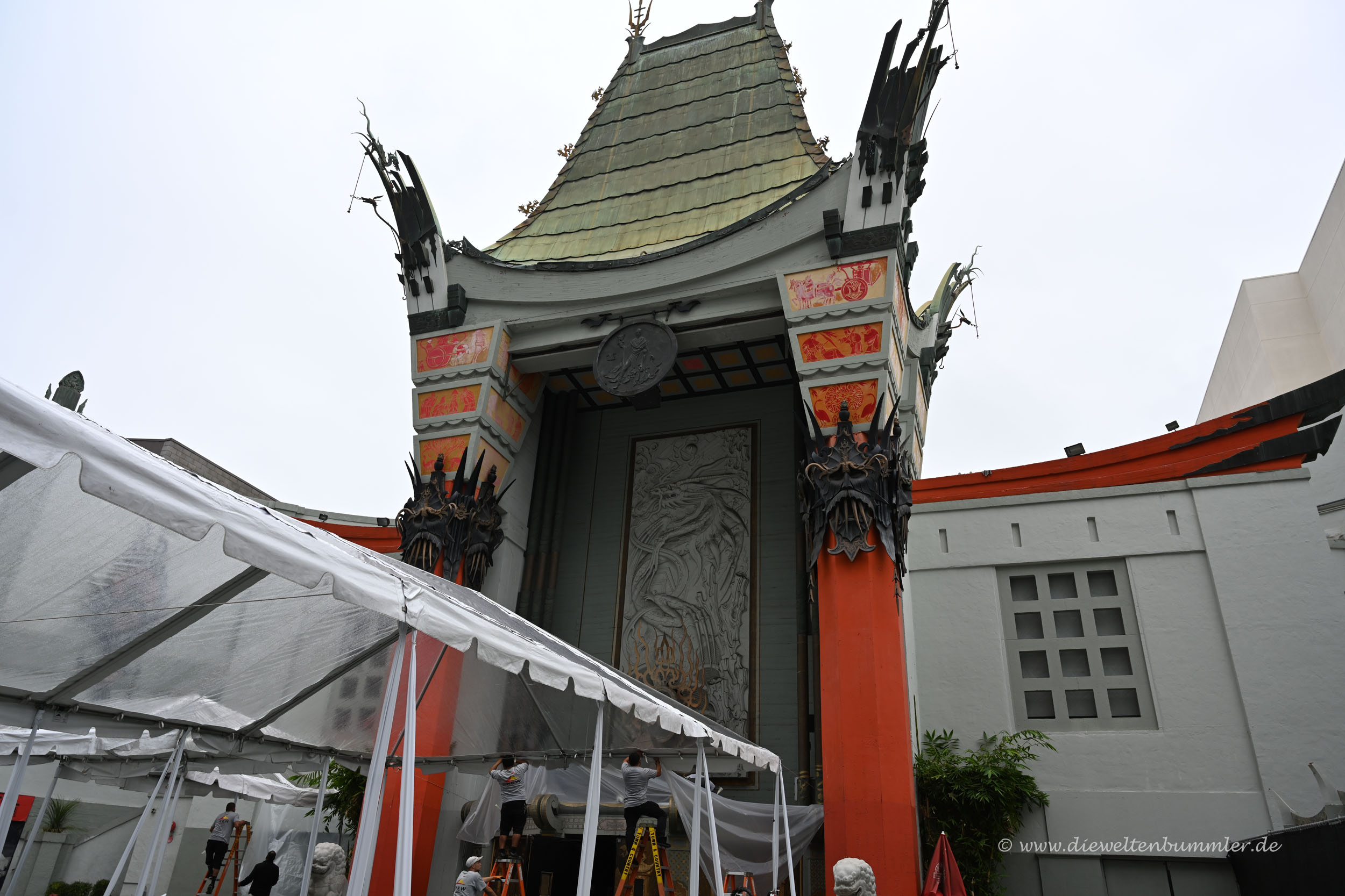 Chinese Theatre in Los Angeles