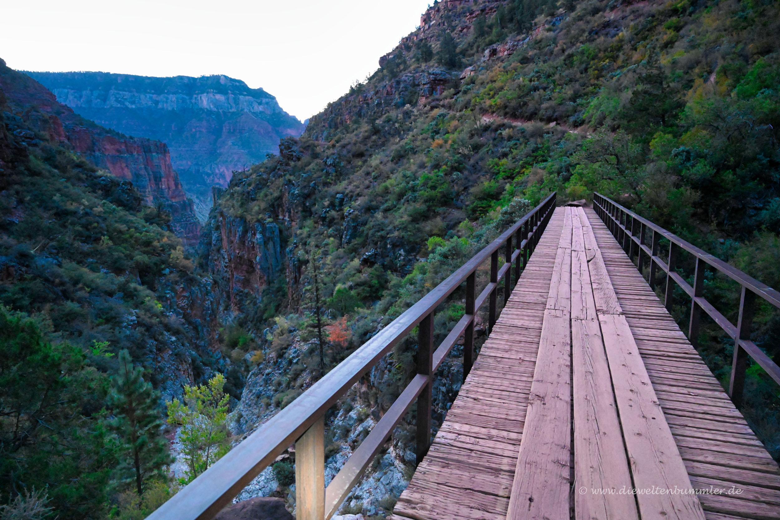 Frühmorgens im Grand Canyon