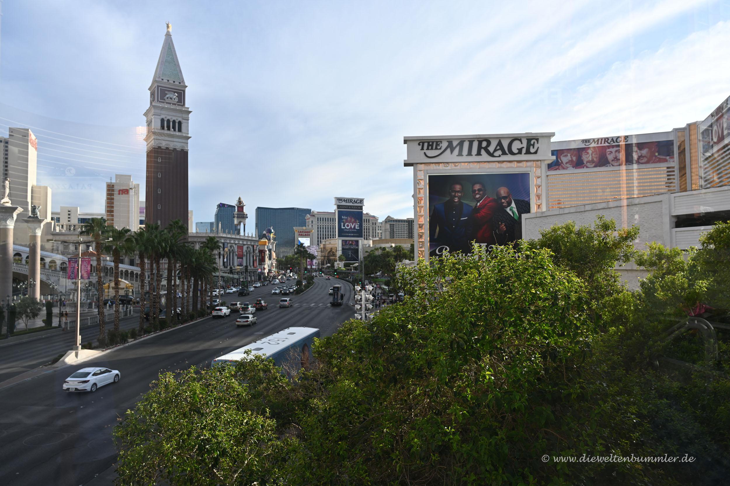Unterwegs in Las Vegas