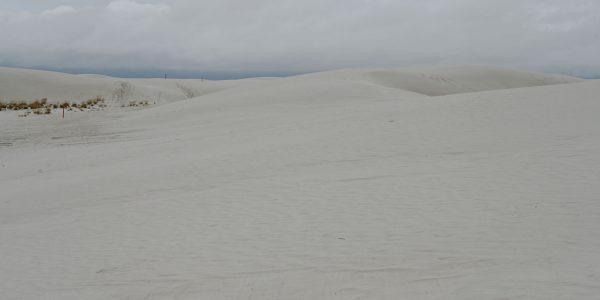 White Sands kennen wir bei besserem Wetter