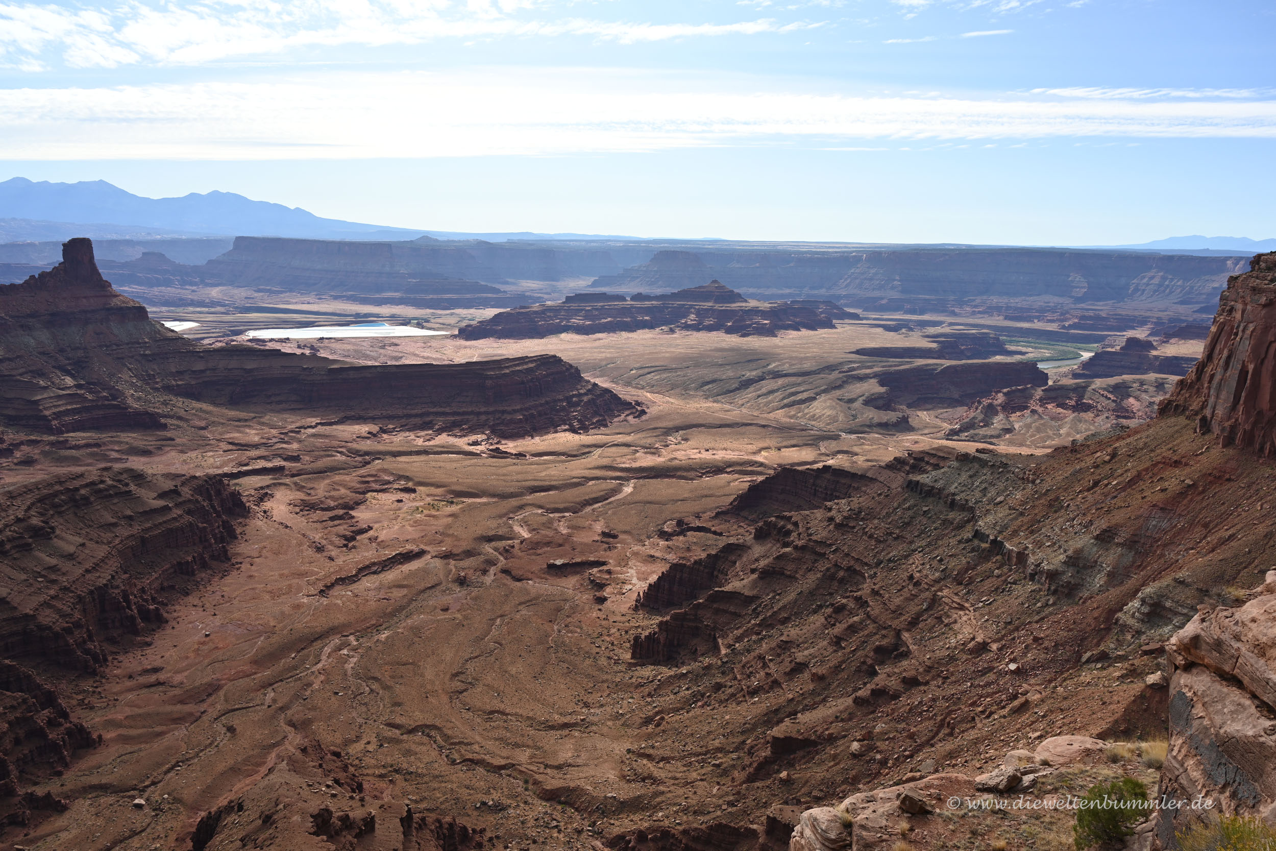 Landschaft am Canyonlands Nationalparks