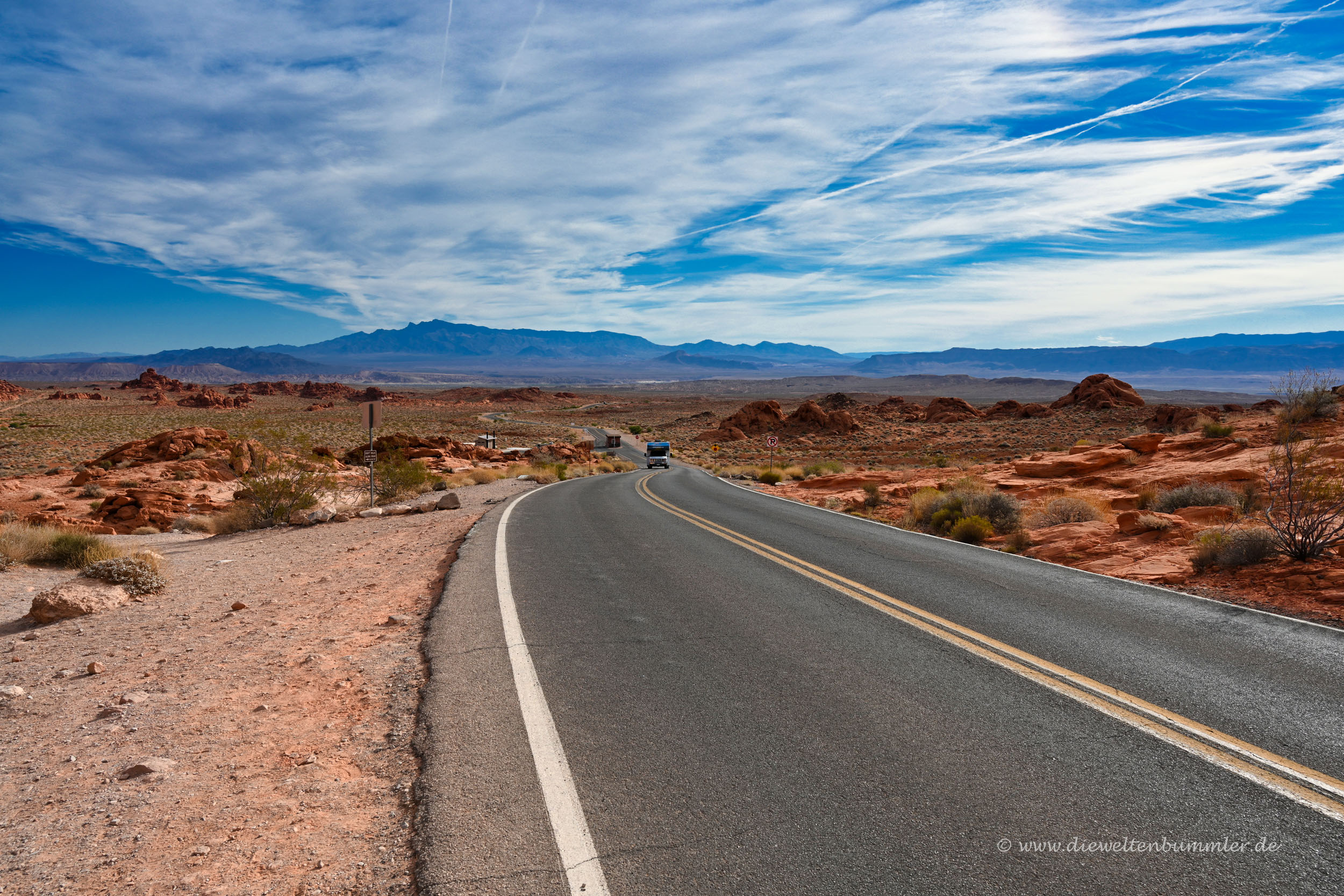 Unterwegs im Valley of Fire