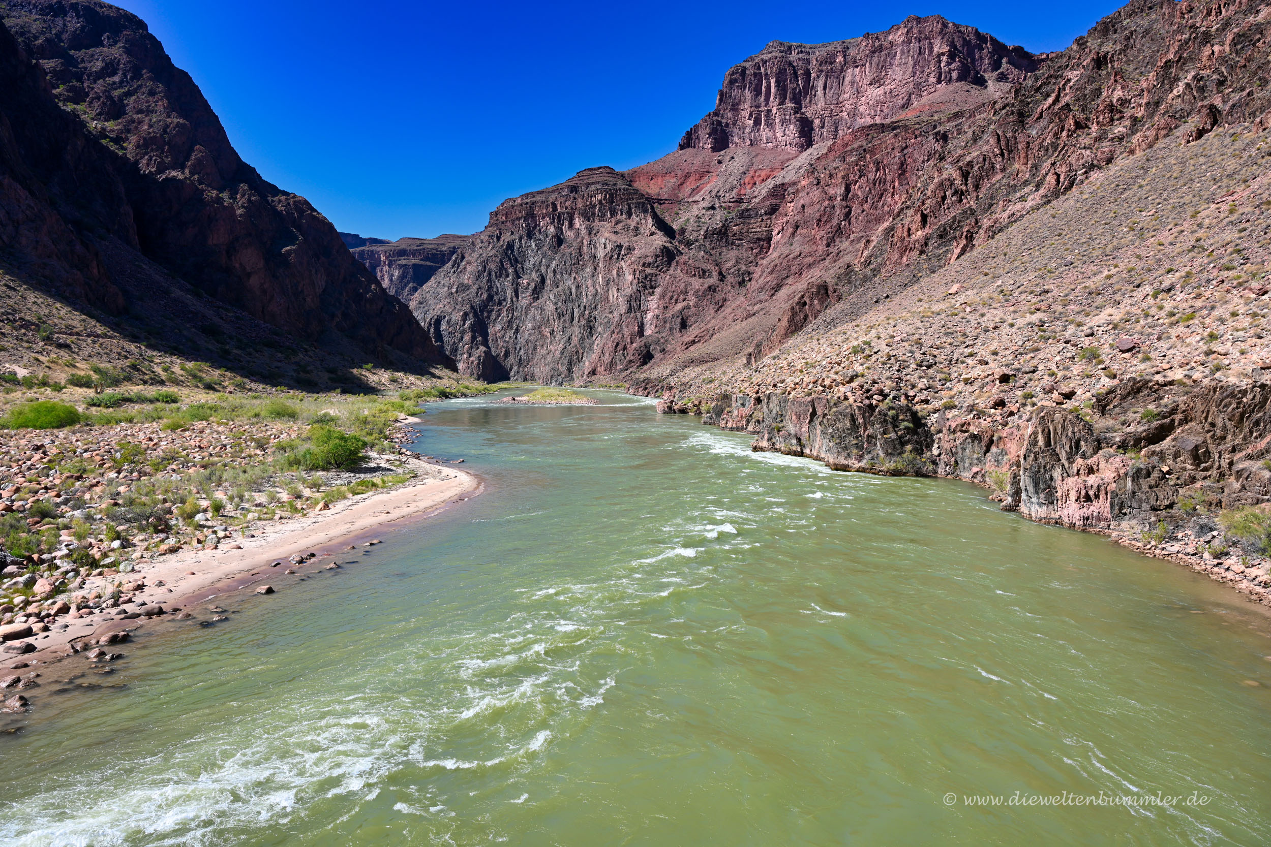 Colorado River im Grand Canyon