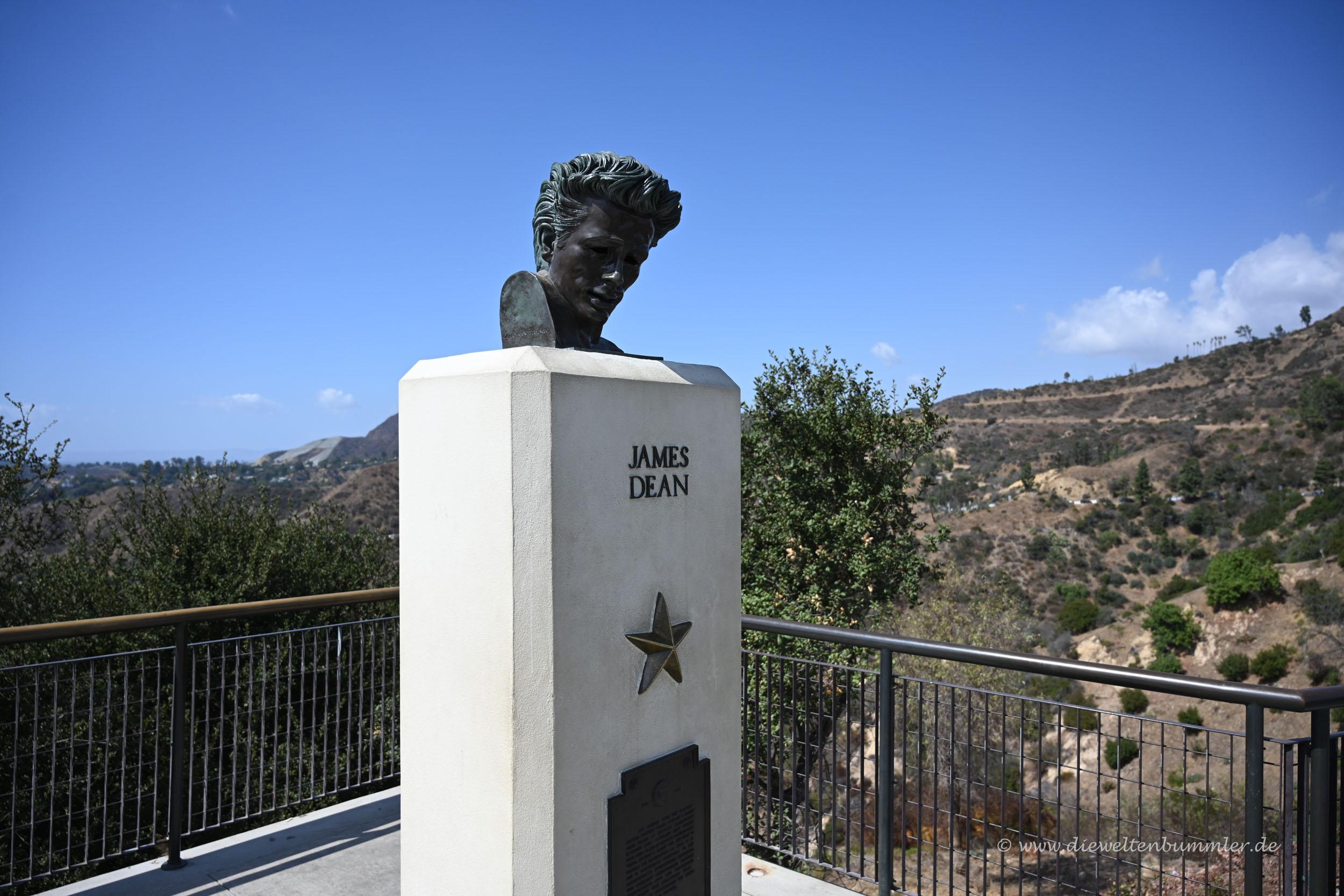 James Dean am Griffith Observatorium