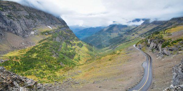 Blick vom Logan Pass