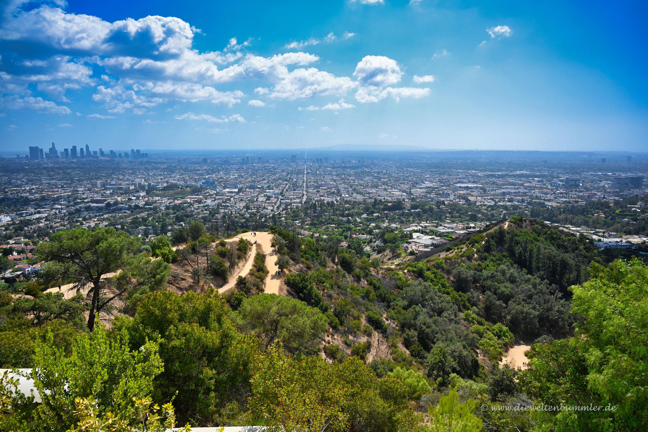 Ausblick aus Los Angeles