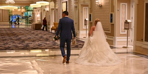 Brautpaar in Las Vegas