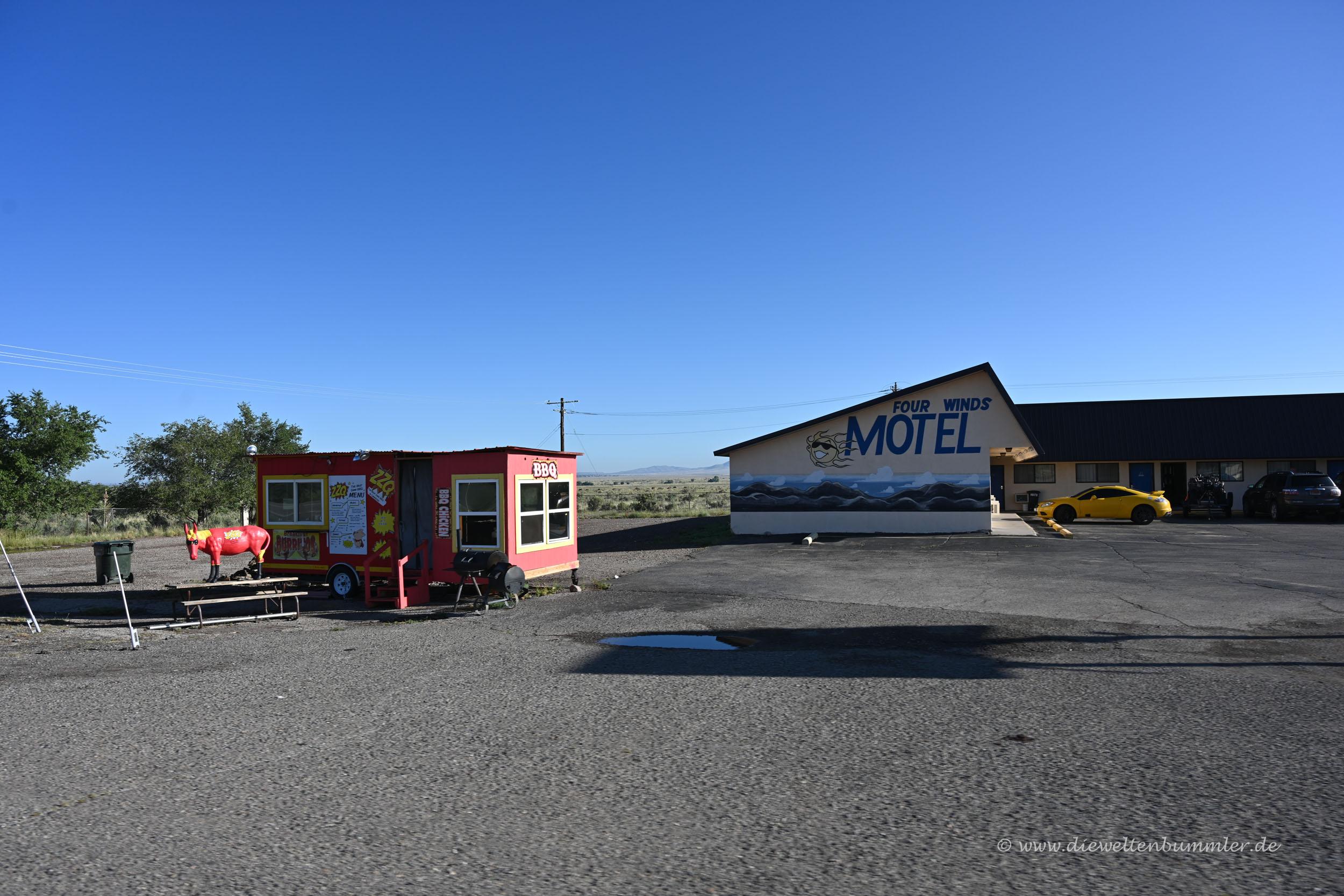 Irgendein Motel in der Wüste