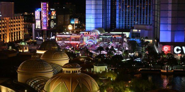 Abendliches Vegas