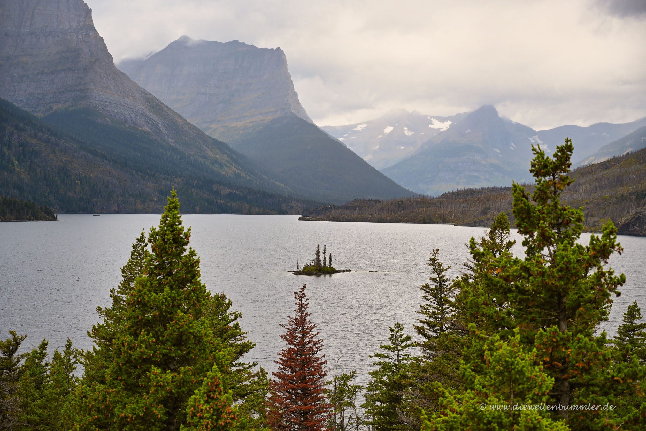 See im Glacier Nationalpark