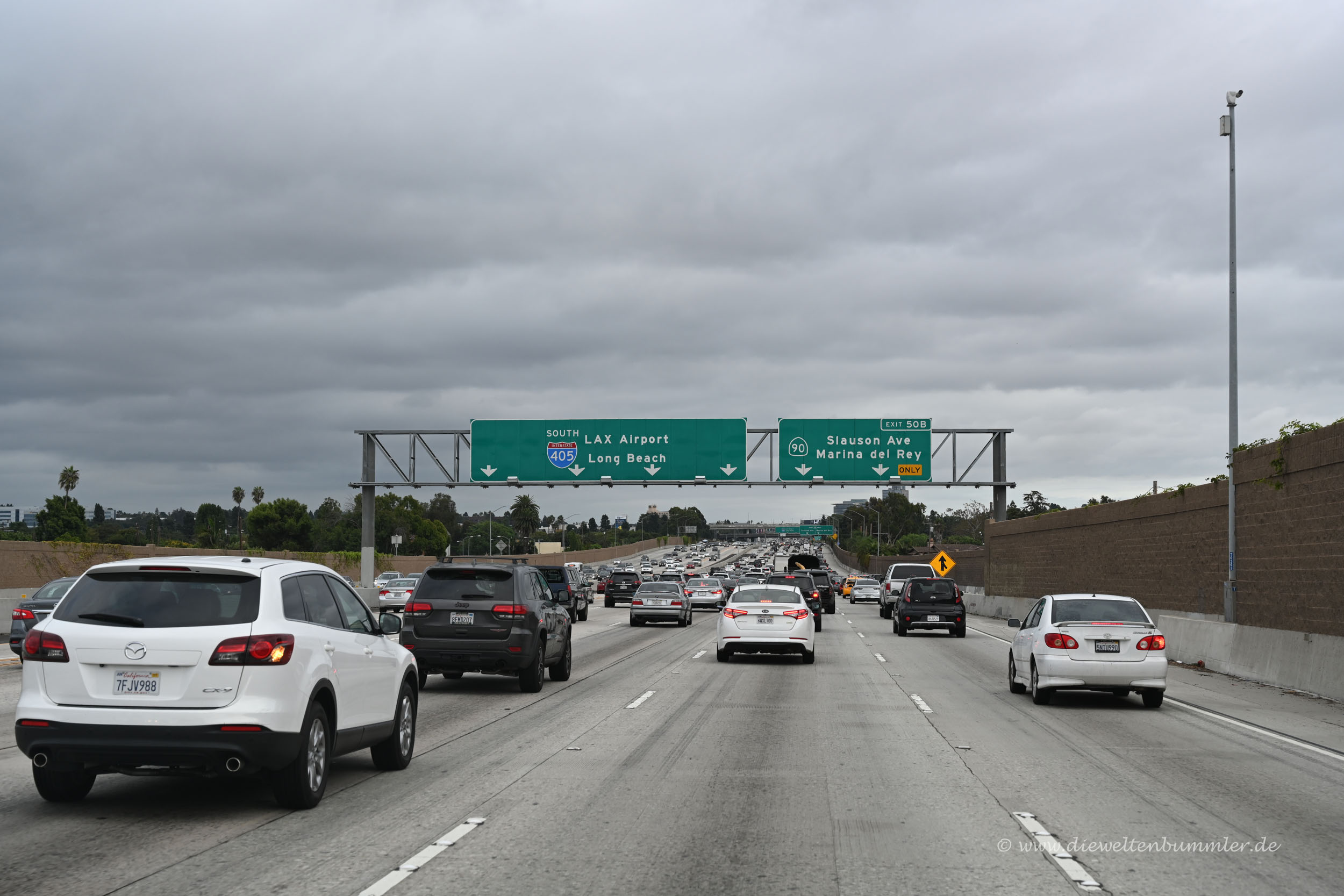 Autobahn in Los Angeles