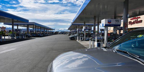Die größte Chevron-Tankstelle der Welt