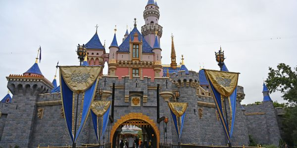 Schloss im Disneyland