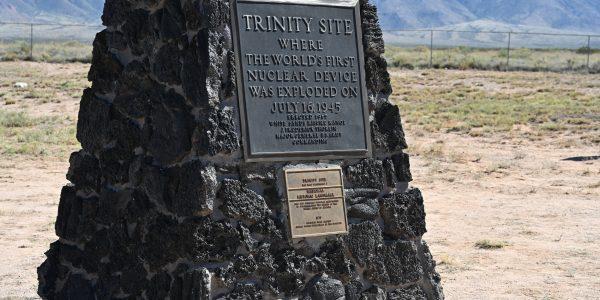 Erinnerung an die erste Atombombe