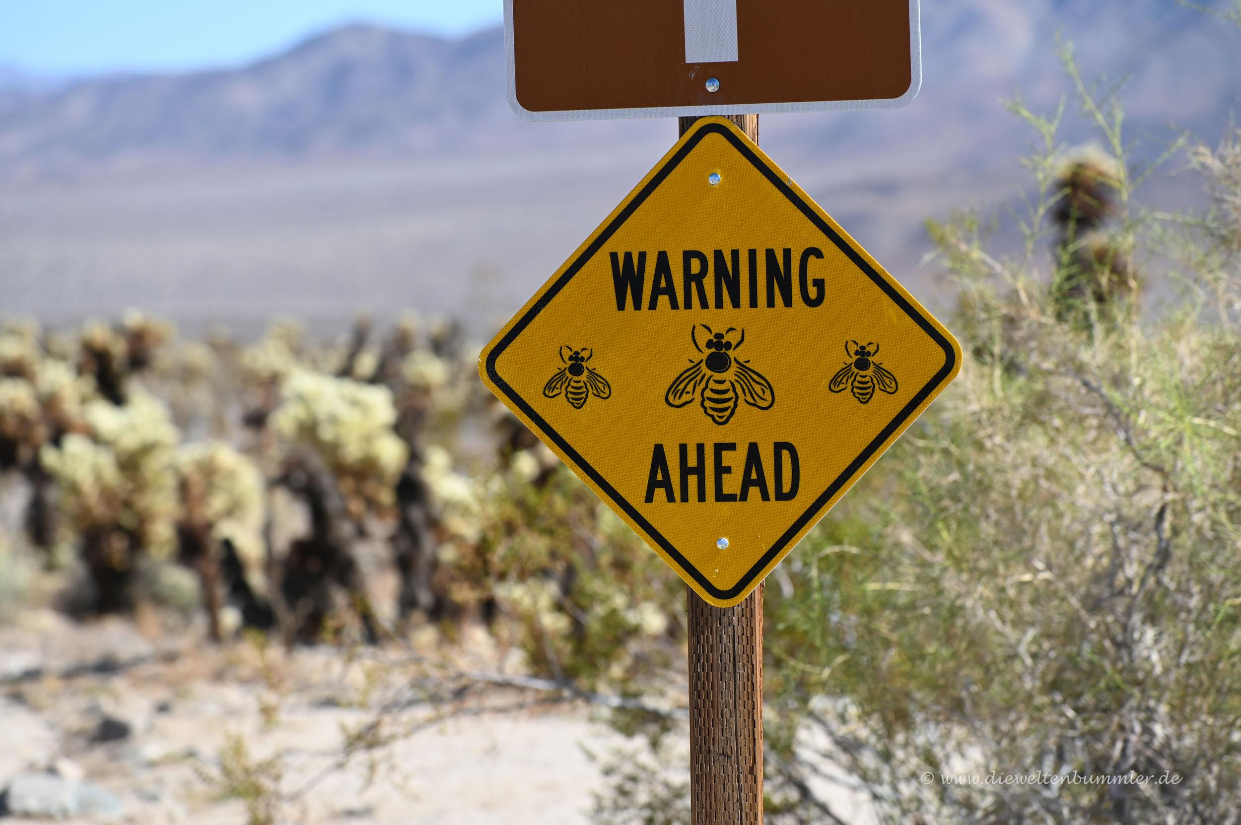 Achtung Bienen
