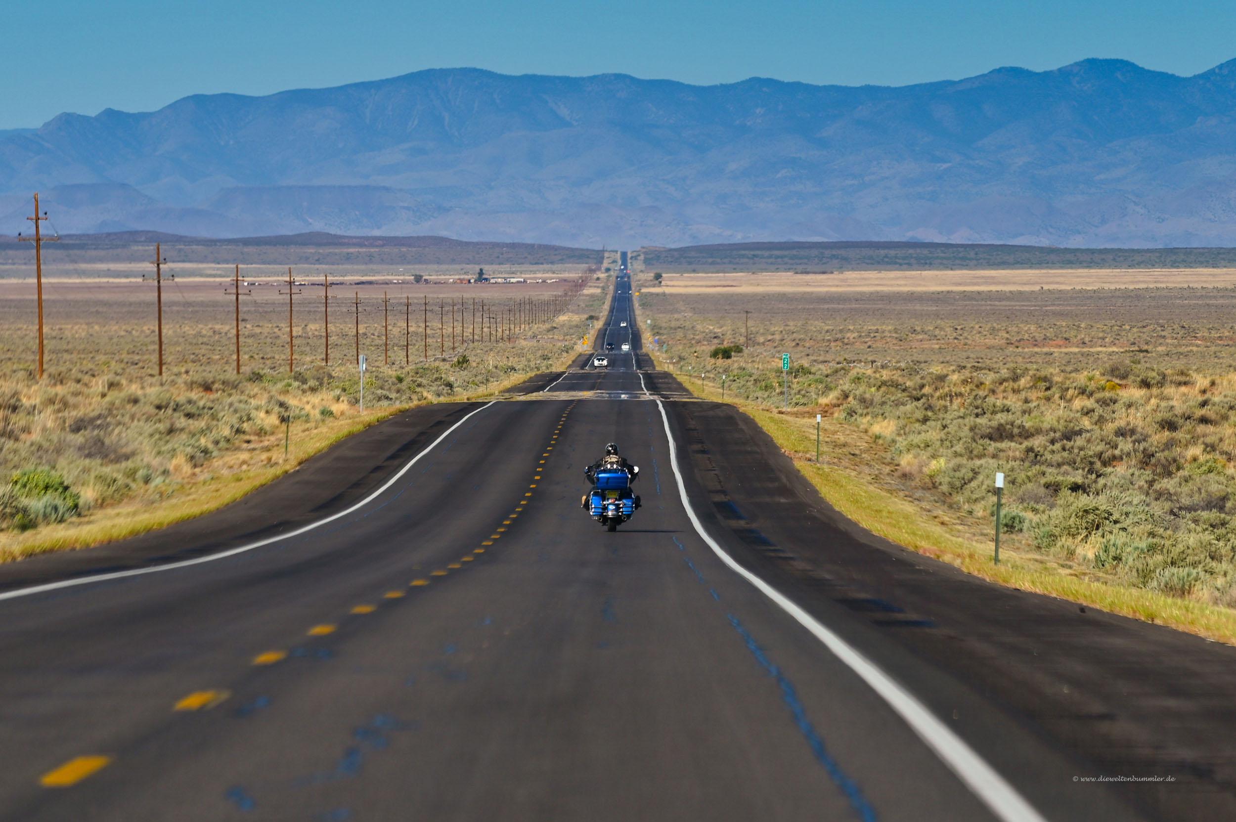 Mit dem Motorrad auf der Route 66